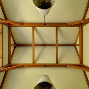 Laurel Hollow Great Room Timberframe