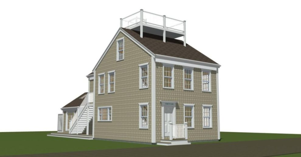 Whaling Cottage Rendering