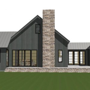 contemporary barn home plan the lexington - Timber Frame Barn Home Plans