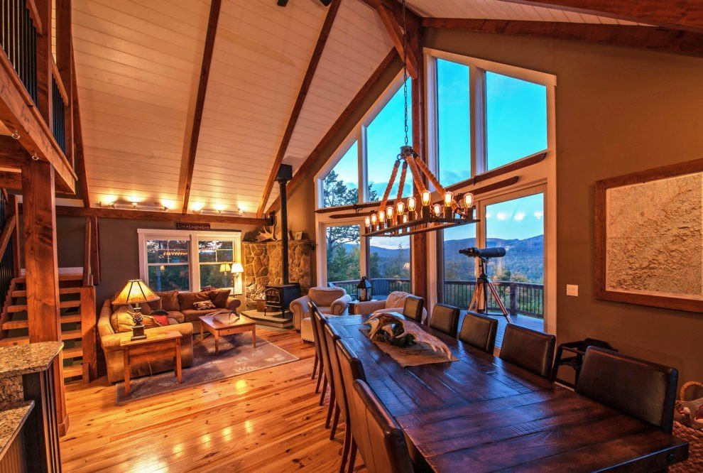 Moose Ridge Lodge Great Room
