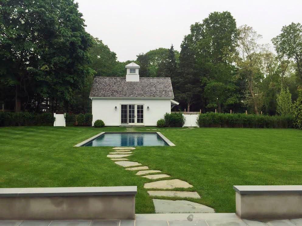 Tisbury Pool House and Garage
