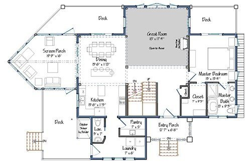 Loon Crossing at Pleasant Lake Floor Plan Preview