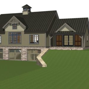 New Age In Place Timberframe Home Plans