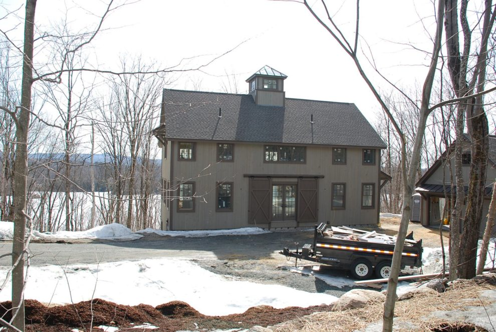 Building a yankee barn home the process for The process of building a house