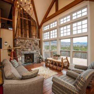 Cabot Barn Living Room