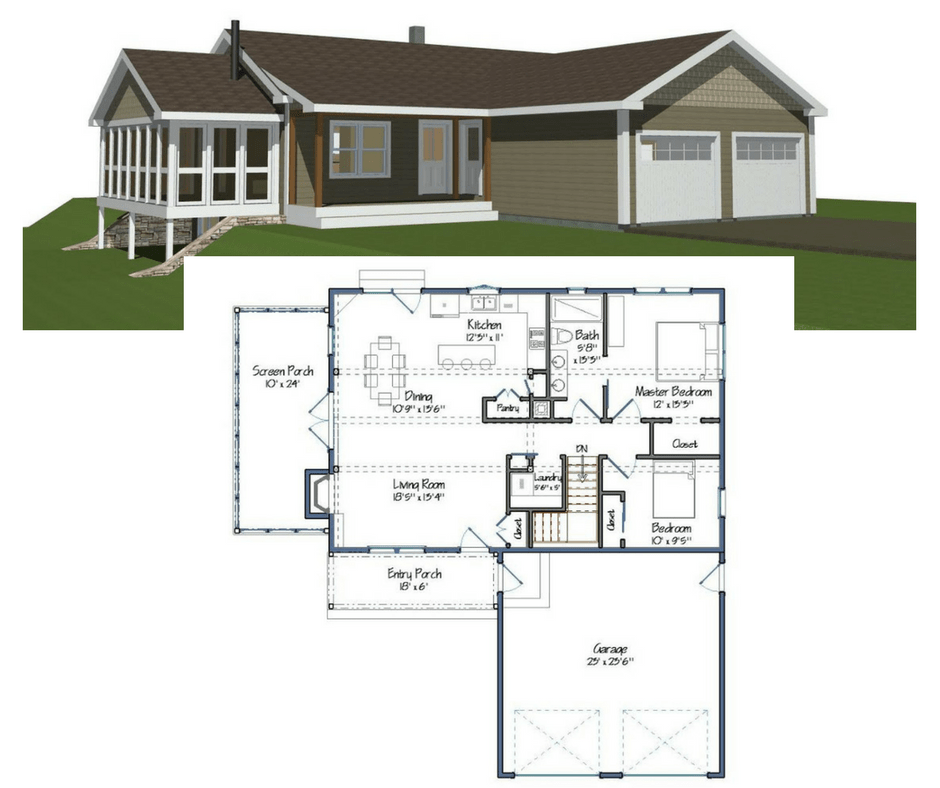 New yankee barn homes floor plans for Small barn floor plans
