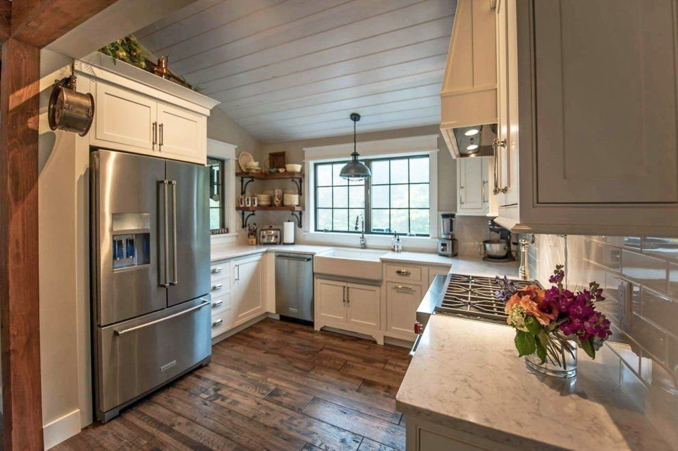 Main Street Farmhouse Kitchen 1