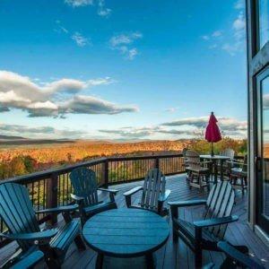 Moose Ridge Lodge Deck