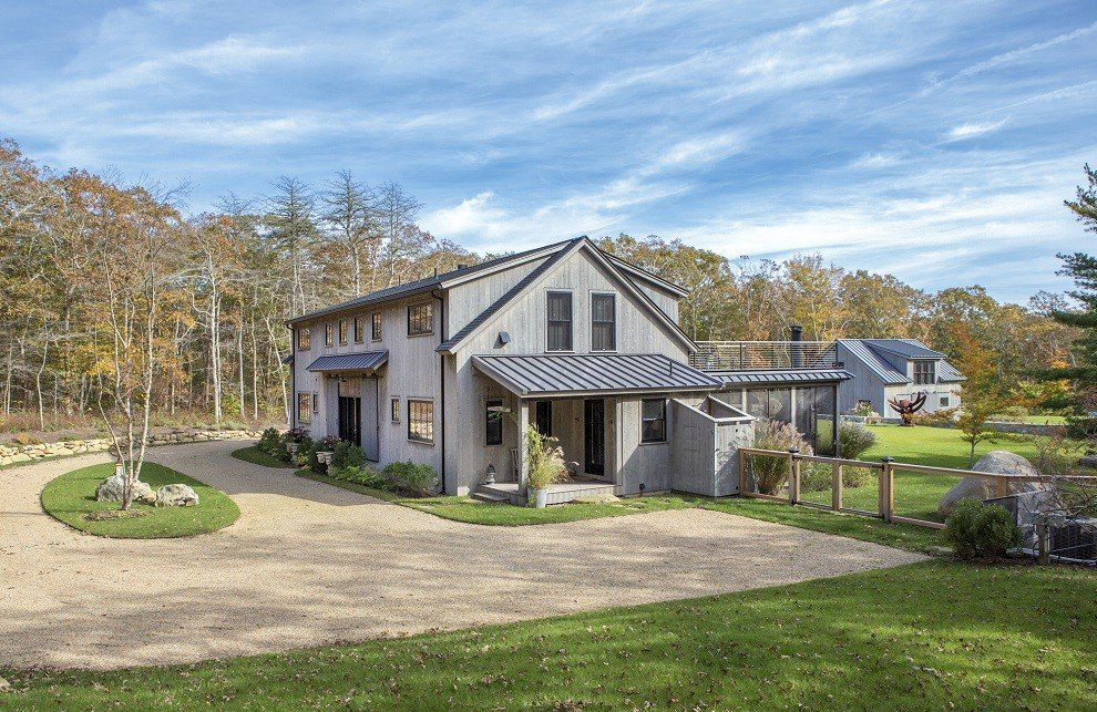 A Barn Home with Panache The