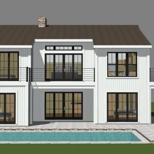 Partial Post and Beam Home Plans