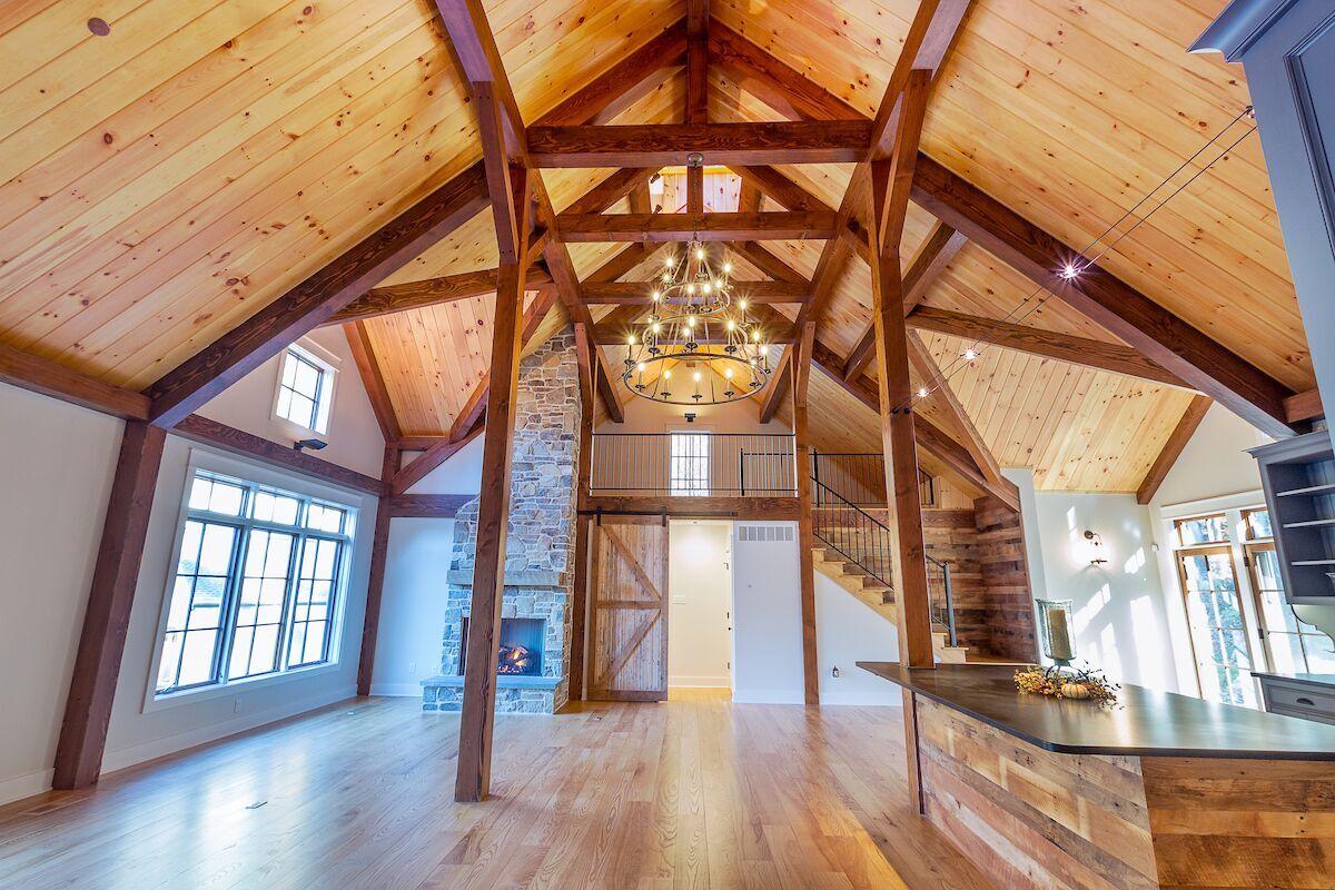 barn style house plans - Yankee Barn Homes