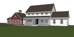 Clare Farmhouse Exterior Featured