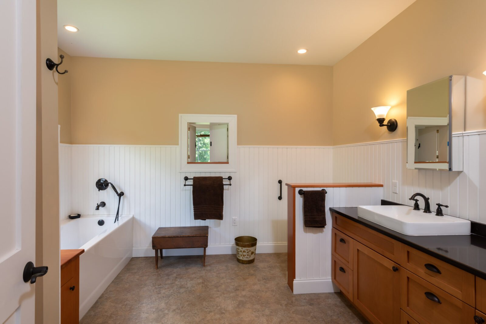 Cooperstown Farmhouse Bathroom
