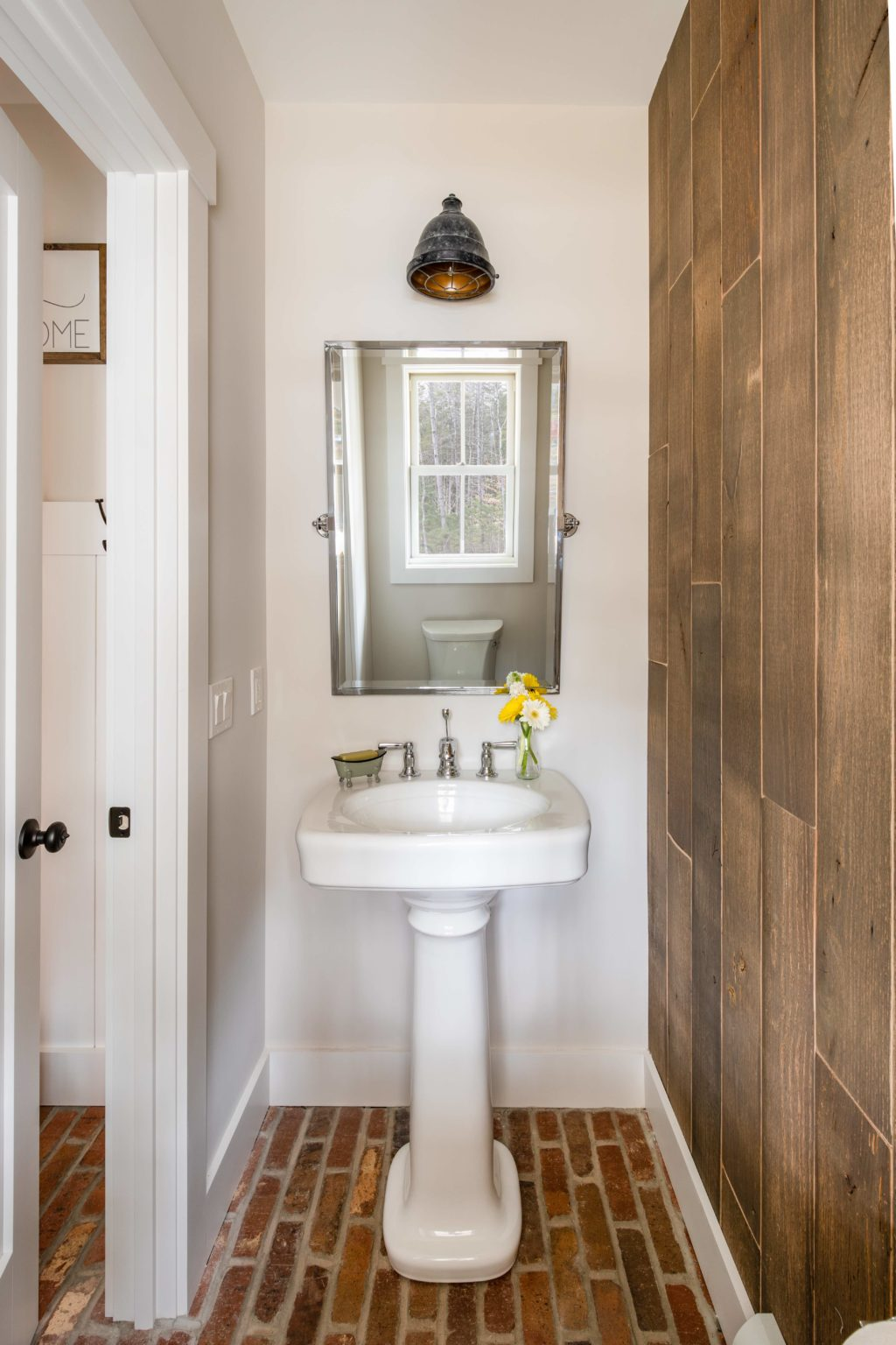 Springfield Barn Home Powder Room