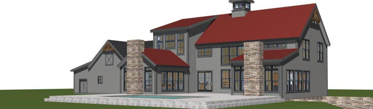 New Barn House Design Jackpot Farms