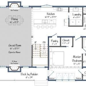 Springfield 1st Floor Plan