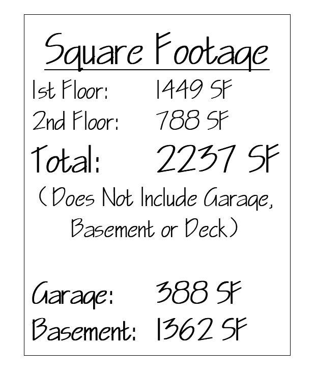 Springfield Square Footage