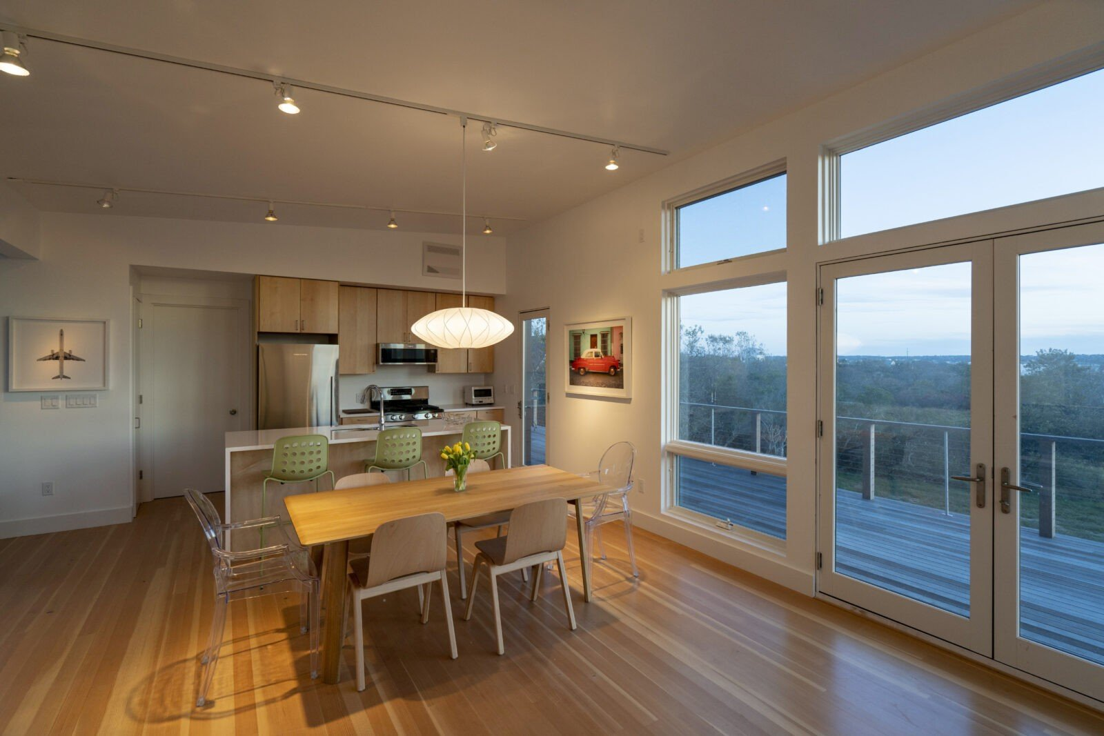Block Island House Kitchen