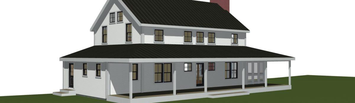 Clove Farmhouse Is On The Boards