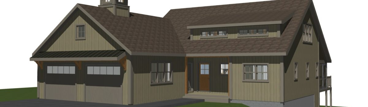 Fuller Mountain A Small Post And Beam Home Design